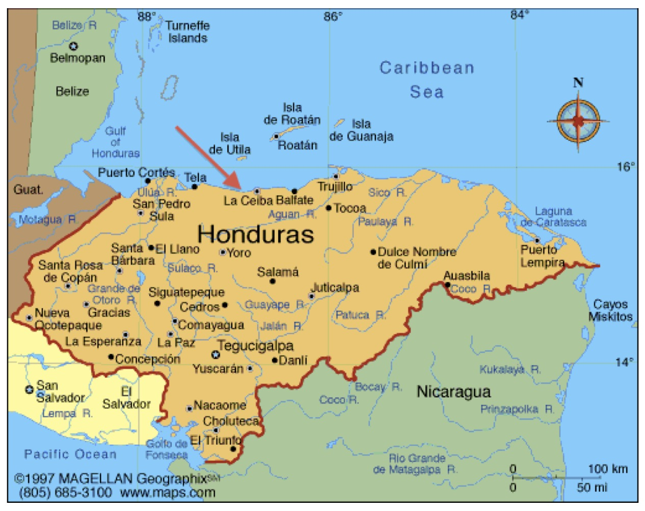 an geographical overview of honduras Honduras - market overviewhonduras - market overview discusses key economic indicators and trade statistics, which countries are dominant in the market, the us market share, the political situation if relevant, the top reasons why us companies should consider exporting to this country, and other issues that affect trade, eg.